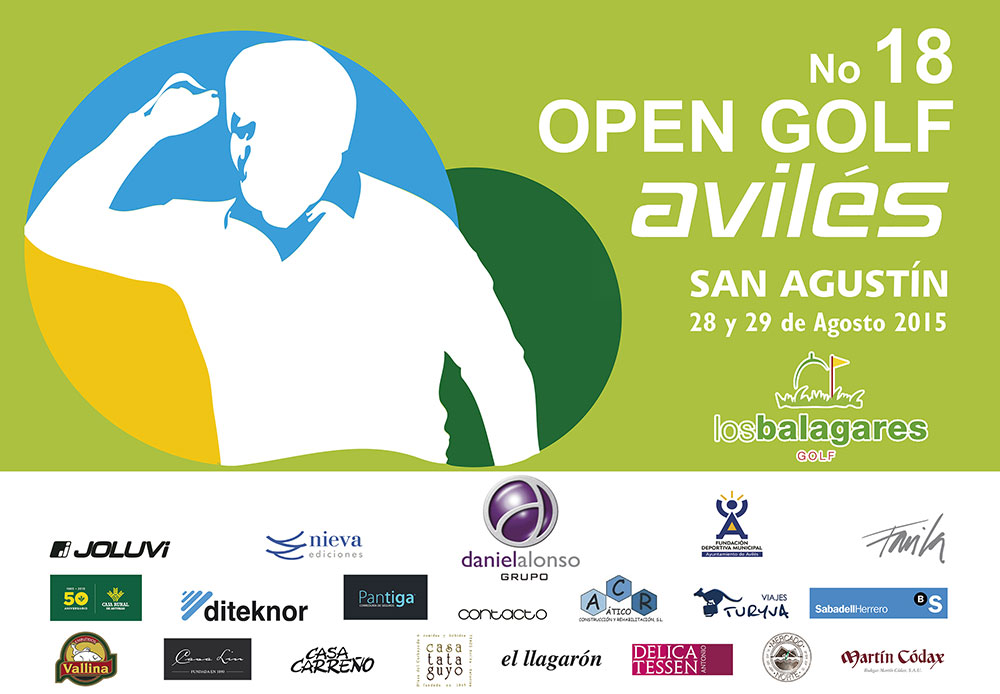 Joluvi sponsors the 18º Open Golf Avilés