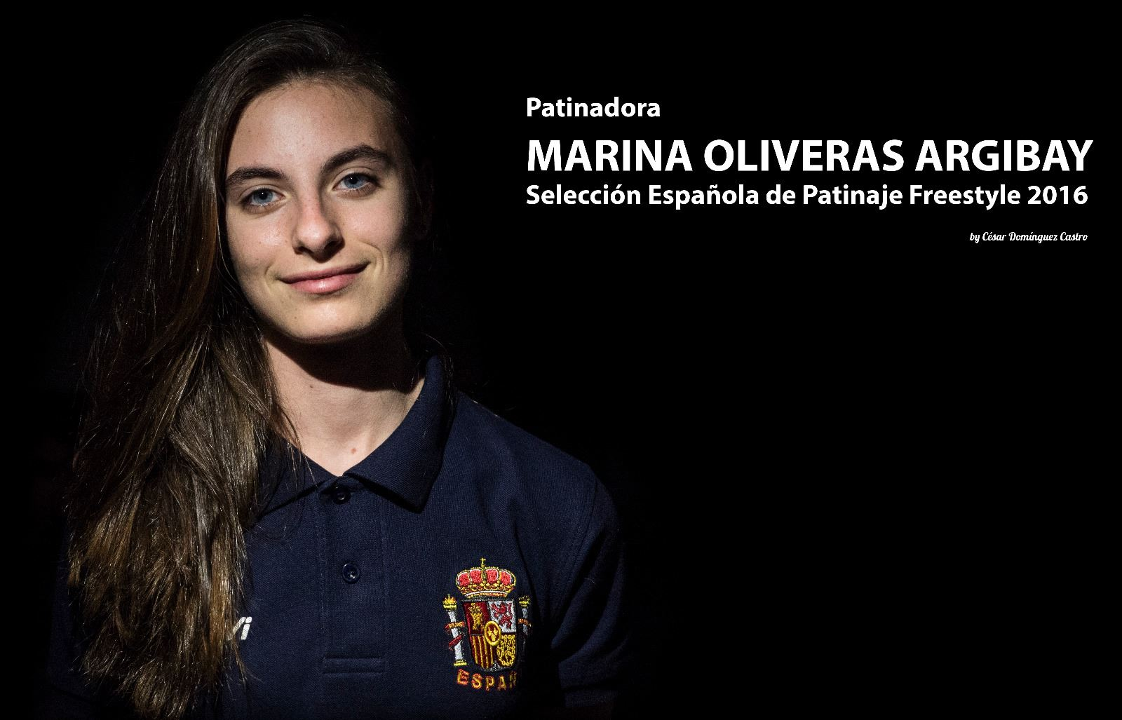 Marina Oliveras gets a silver medal in the 10th World Inline Freestyle Championship