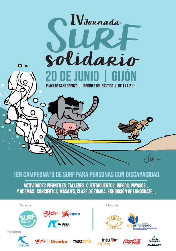 Jack London Official Sponsor of the 4Th Edition of Surfing Solidarity Day