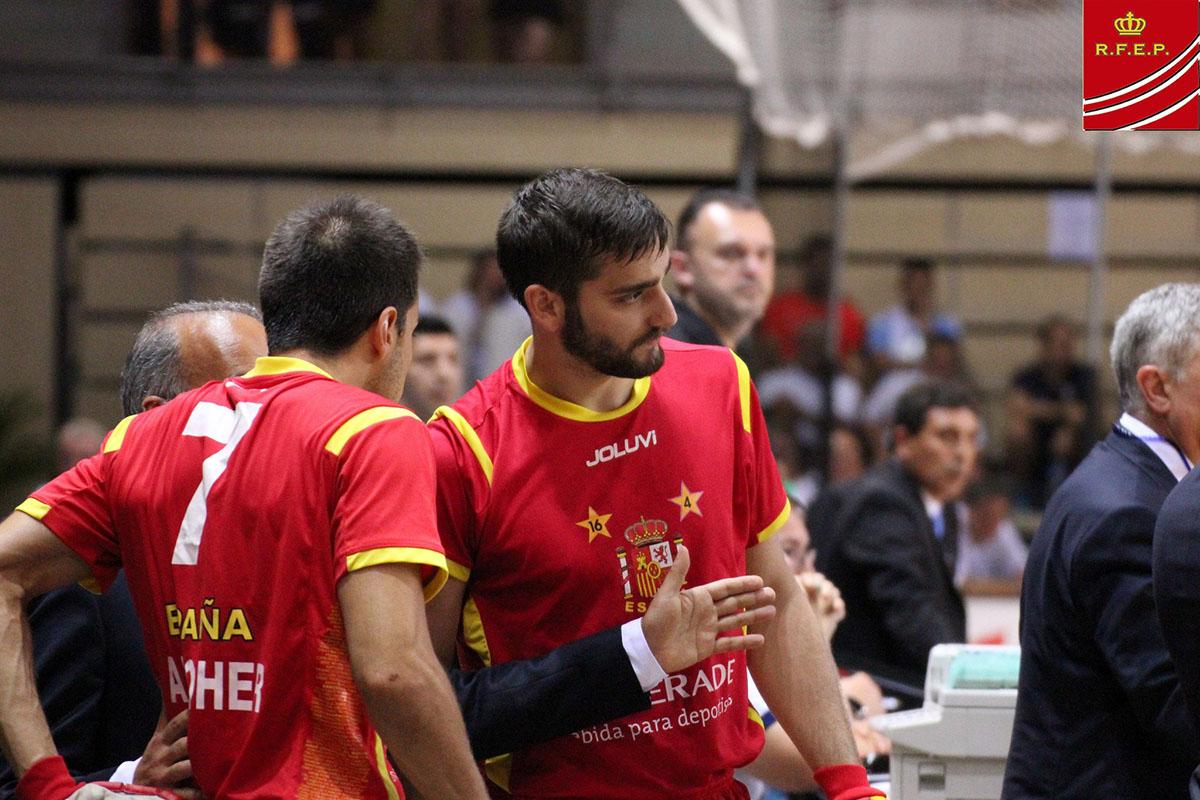 The Spanish Roller Hockey National Team, runner-up at the World Champ