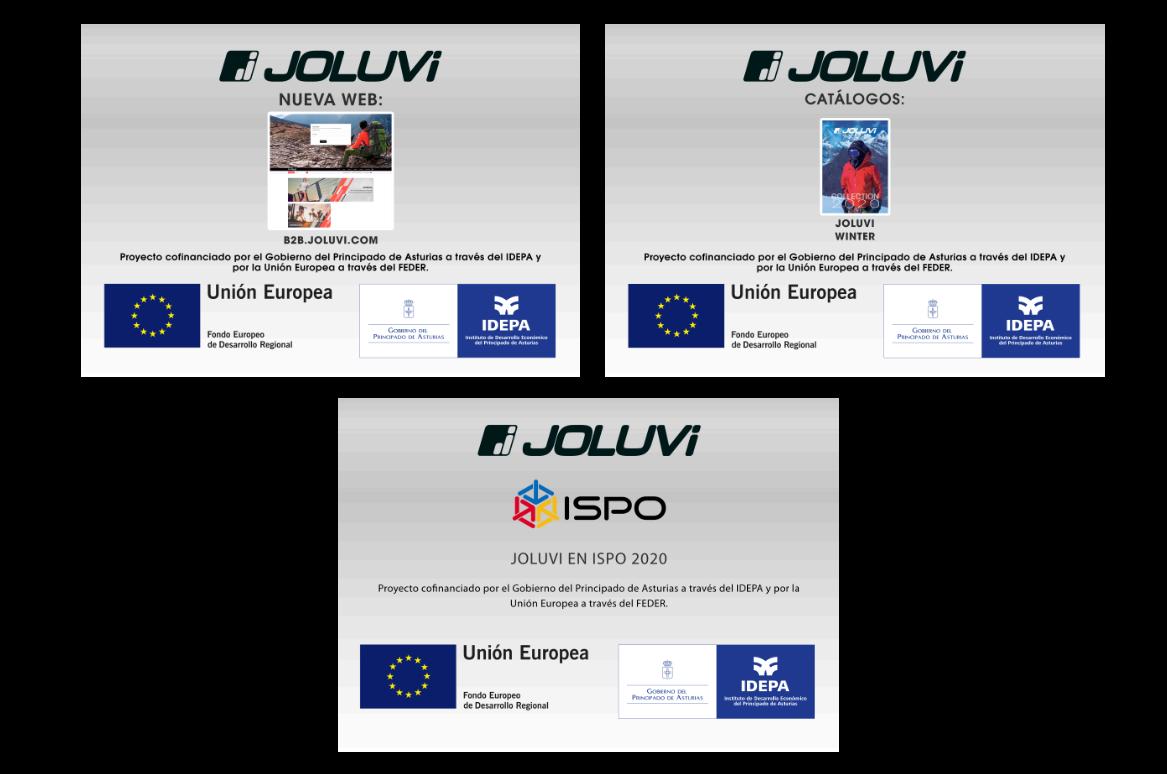 Joluvi, el IDEPA y el FEDER 2020