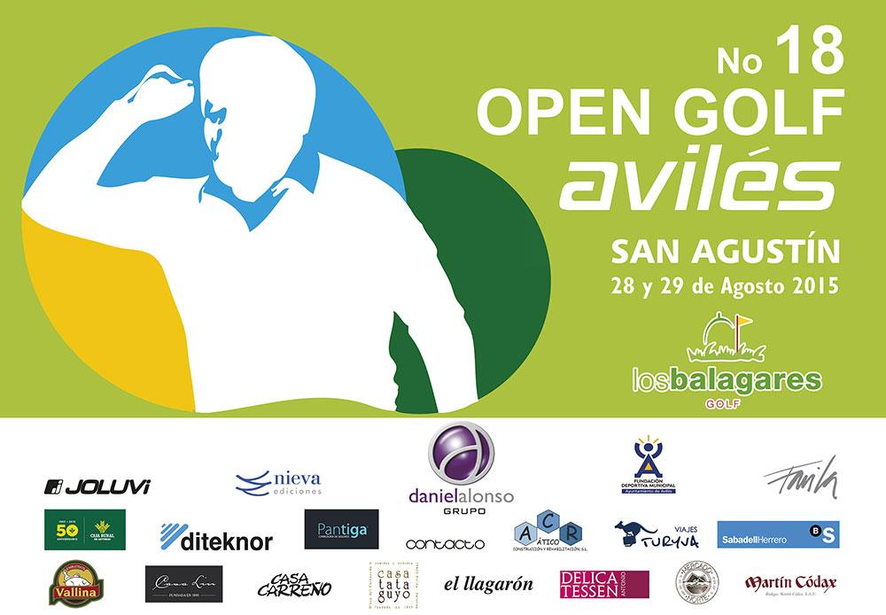 JOLUVI patrocinador del 18º Open de Golf Avilés