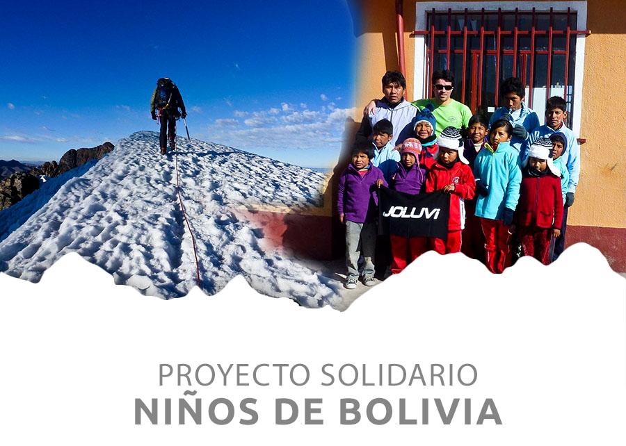 Campaña Solidaria: Niños de Bolivia