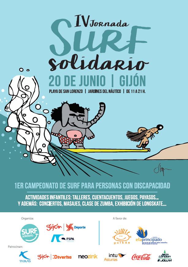 Jack London sponsor oficial de la IV Jornada de Surf Solidario