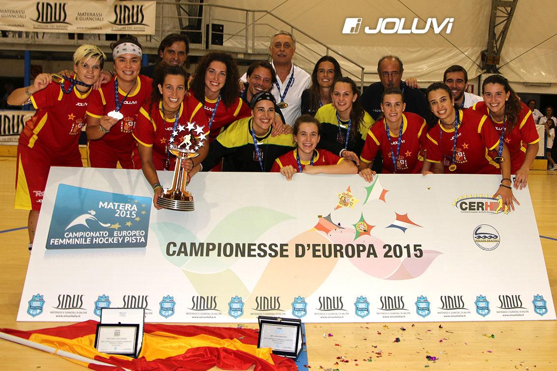 5º Campeonato de Europa para la Selección Española de Hockey sobre Patines femenino