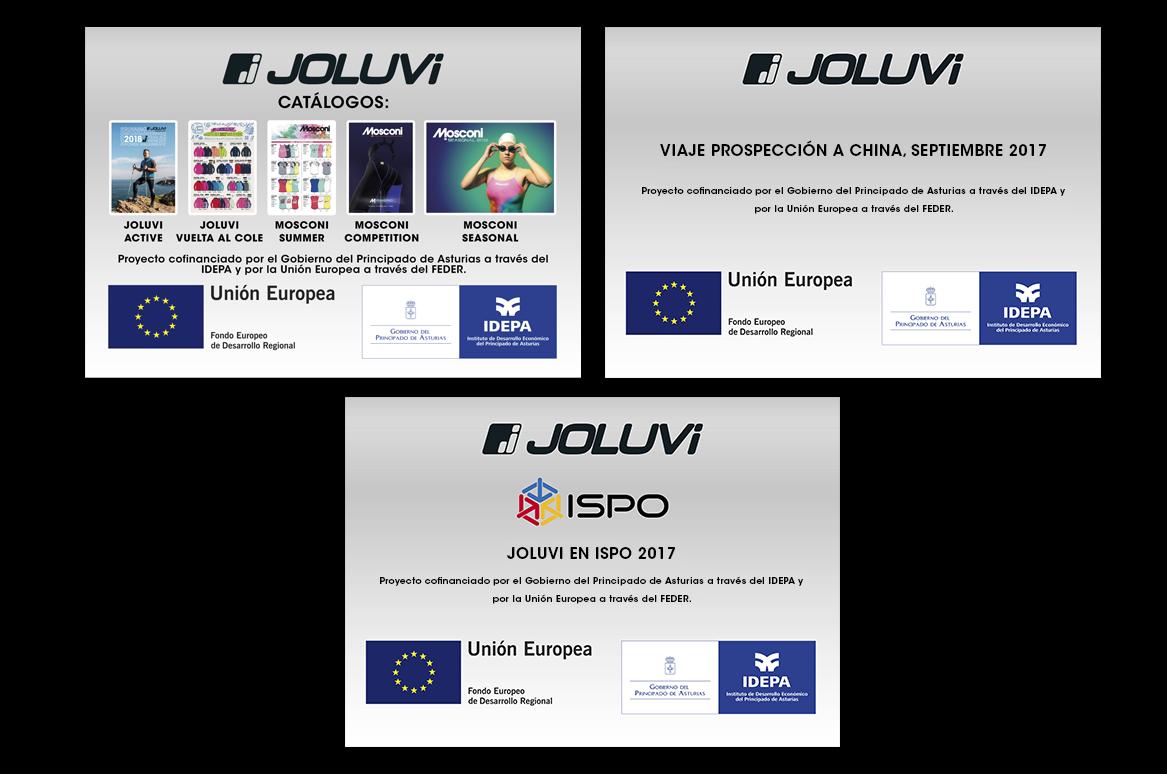 Joluvi, el IDEPA y el FEDER 2017