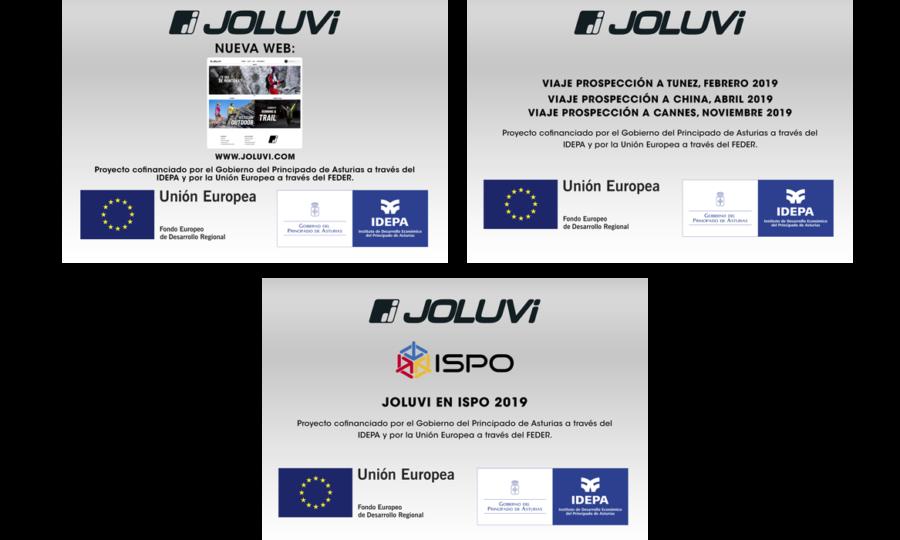 Joluvi, el IDEPA y el FEDER 2019