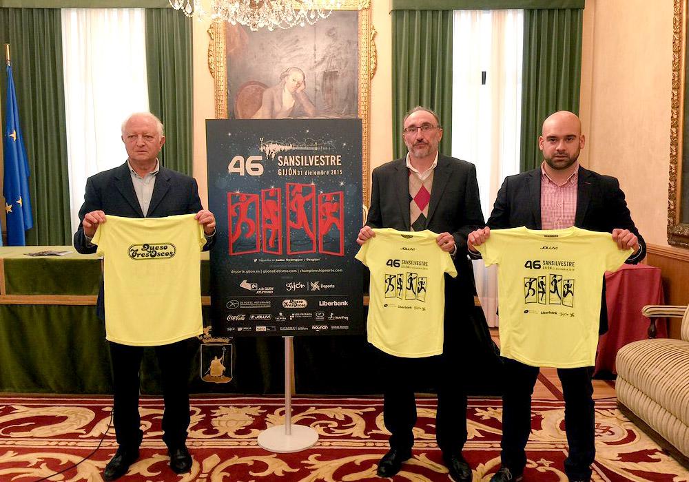 Joluvi en la San Silvestre de Gijón, este año, con carácter solidario