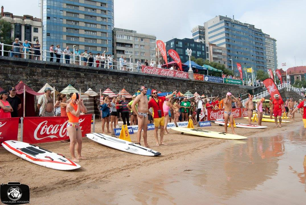 Mosconi con la IV Lifeguard Race Series